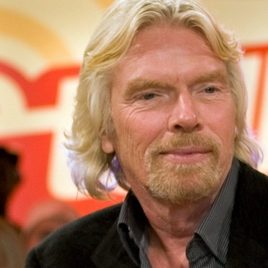 Richard Branson London Triathlon