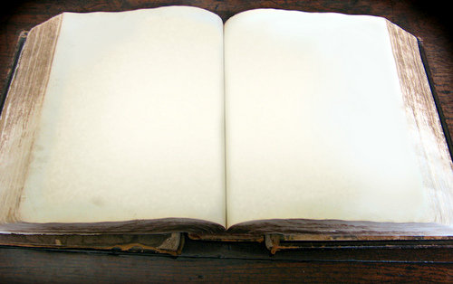 Blank book - rewrite your life