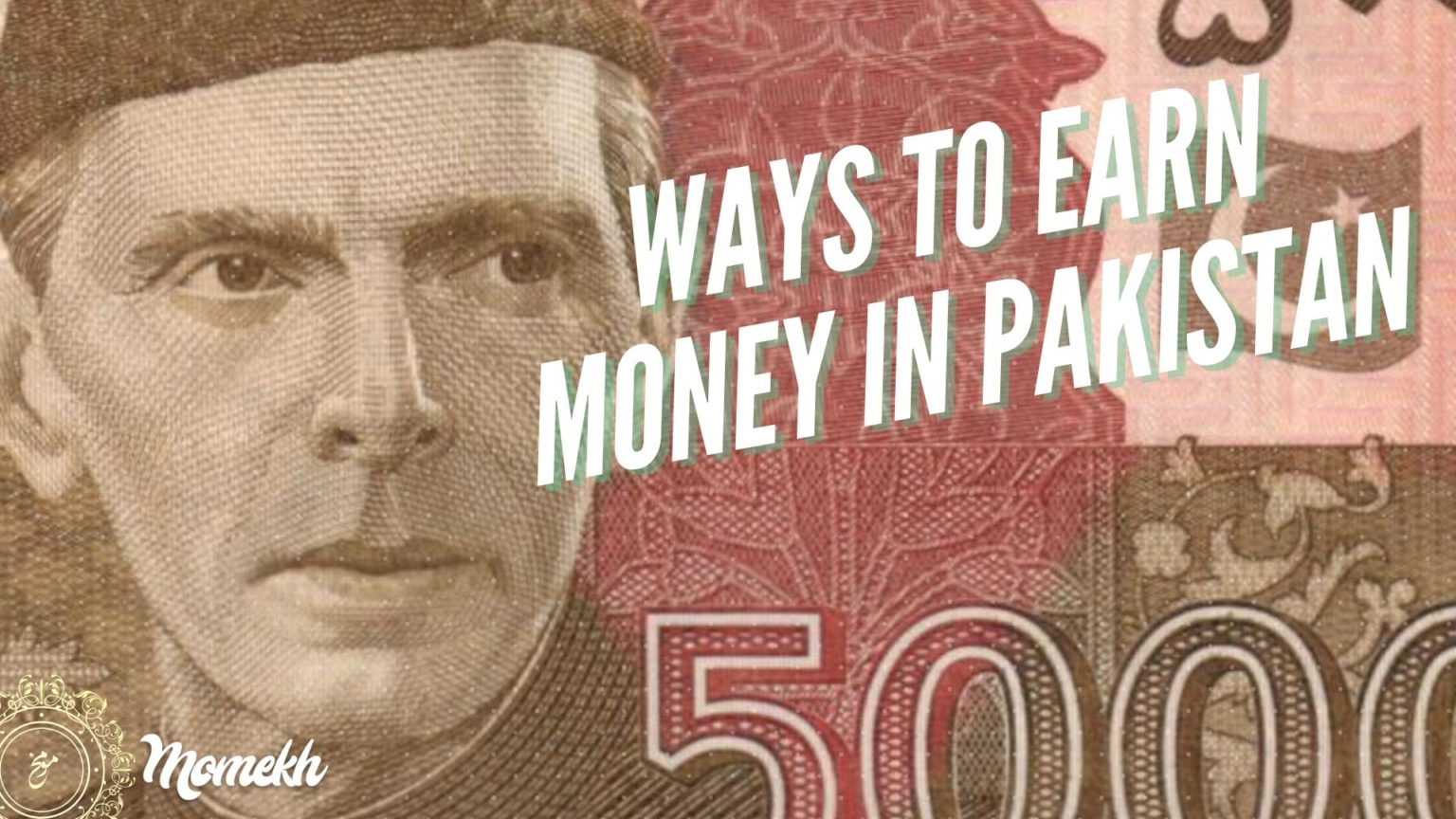 15 Ways You can Earn Money in Pakistan – but with a twist