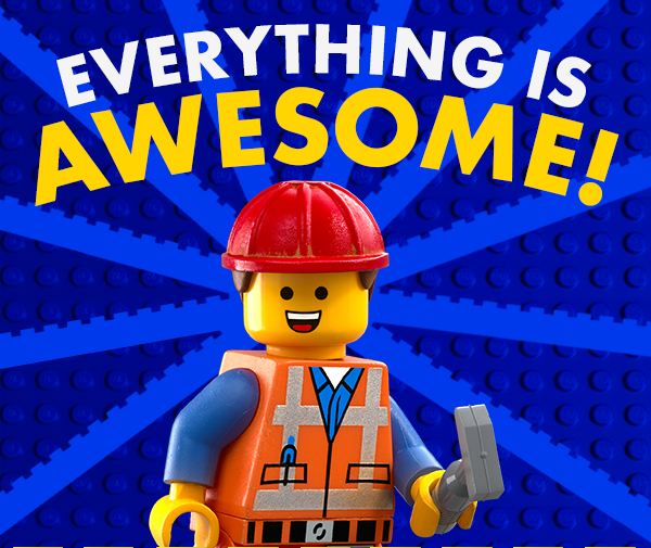 Is everything really that awesome?